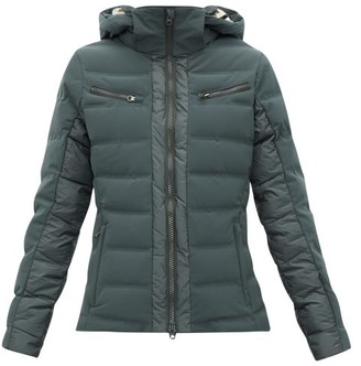 Capranea - Vanta Down-filled Quilted Ski Jacket - Womens - Grey