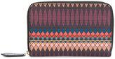 Paul Smith No.9 Damson zip-around purse