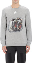 Givenchy Men's Monkey & Star Sweatshirt-LIGHT GREY