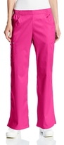Cherokee Women's Scrubs Luxe Mid-Rise Pull-On Cargo Pant