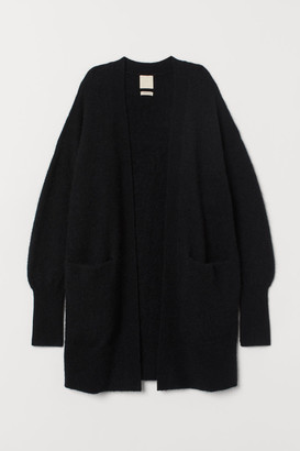 H&M Wool-blend Cardigan - Black