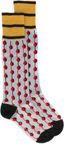 Marni dot printed socks - women - Cotton - S/M