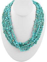 Barse Genuine Stone Multistrand Necklace