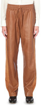 Joseph Astrid loose-fit high-rise leather trousers