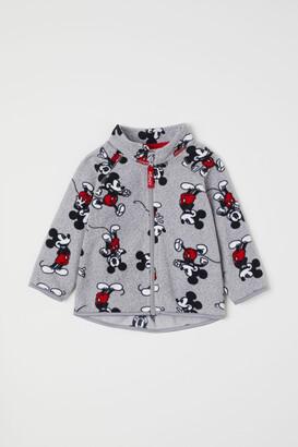 H&M Patterned Fleece Jacket