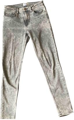 Acne Studios Grey Denim - Jeans Jeans for Women