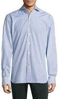 Kiton Striped Casual Button-Down Shirt