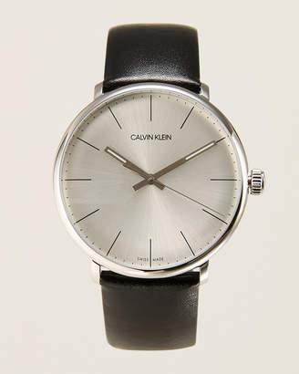 Calvin Klein K8M211C6 Silver-Tone & Black High Noon Watch