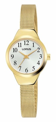 Lorus Womens Analogue Classic Quartz Watch with Stainless Steel Strap RG222PX9