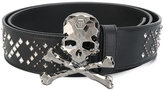 Philipp Plein skull studded belt