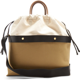 Marni Double Plume canvas bag