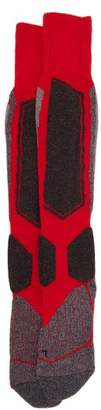 Falke Ess - Sk1 Knee High Ski Socks - Mens - Red Multi