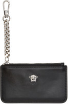 Versace Black Small Medusa Coin Pouch