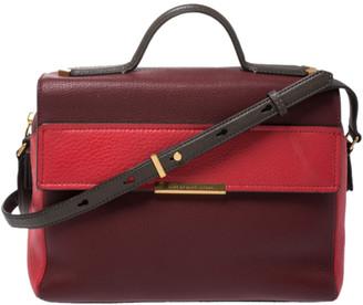 Marc by Marc Jacobs Tri Color Leather Flap Top Handle Bag
