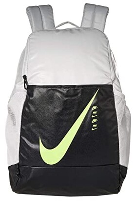 Nike Brasilia Backpack - 9.0 (Photon Dust/Dark Smoke Grey/Ghost Green) Backpack Bags