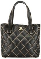 Chanel Pre Owned Wild Stitch CC tote