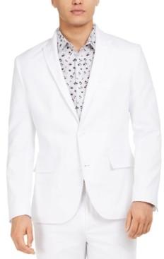 INC International Concepts Inc Men's Slim-Fit Linen Jasper Blazer, Created for Macy's