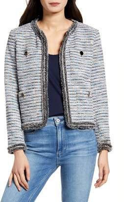 Cupcakes And Cashmere Palisades Boucle Jacket