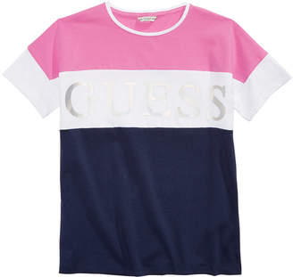 GUESS Big Girls Colorblocked T-Shirt