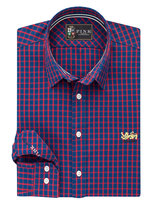 Thomas Pink Lions Fletcher Check Classic Fit Button Cuff Shirt