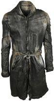 Giorgio Brato Belted Leather Coat