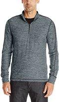 Lucky Brand Men's Grey Label Popover Sweatshirt