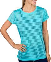 Jockey Short-Sleeve Mesh Striped T-Shirt