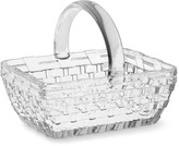 Williams-Sonoma Easter Embossed Glass Basket