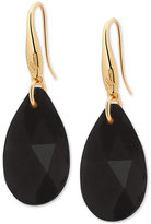 GUESS Gold-Tone Faceted Stone Drop Earrings
