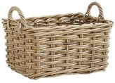 Pier 1 Imports Kubu Natural Wicker Small Storage Basket