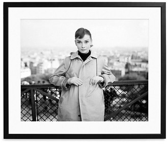 Sonic Editions Large Audrey Hepburn Posing In 'Funny Face' Art Print