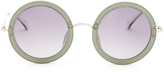The Row Oversized round-frame sunglasses