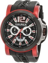 Haurex Italy Men's San Marco Aluminum Rubber Chrono Watch 3D370UNR