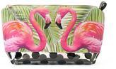 Tricoastal Design Tri-Coastal Design Flamingo Cosmetic Bag