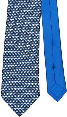Prada Micro-Patterned Tie