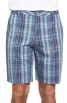 Tailor Vintage Men's Plaid Hybrid Shorts