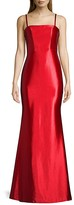 Thumbnail for your product : Faviana Satin Open-Back Mermaid Gown