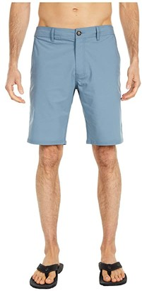 O'Neill Stockton Hybrid Boardshorts (Dust Blue) Men's Swimwear