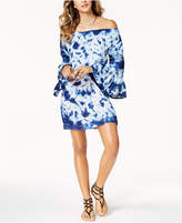 Raviya Tie-Dyed Off-The-Shoulder Dress Cover-Up Women's Swimsuit