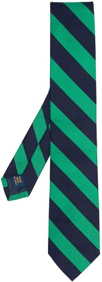 Polo Ralph Lauren Striped Silk Narrow Tie