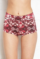 Forever 21 Active Prism Printed Hot Yoga Shorts