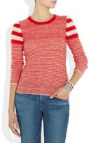 Etoile Isabel Marant Flynn striped mohair-blend sweater