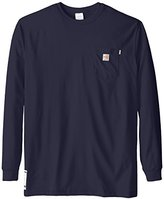 Carhartt Men's Big & Tall Flame Resistant Force Cotton Long Sleeve T-Shirt