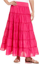 Style&Co. Skirt, Tiered Maxi