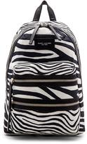 Marc Jacobs Zebra Biker Backpack