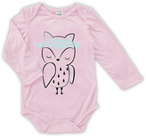 Urban Smalls Pink Owl Long-Sleeve Bodysuit - Infant
