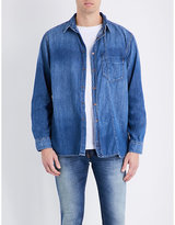 Nudie Jeans Calle Skewed Denim (blue) Shirt
