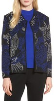 Ming Wang Women's Embroidered Knit Jacket