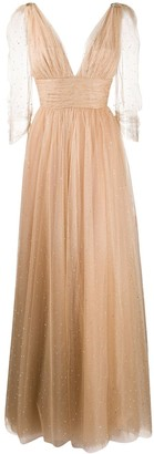 Maria Lucia Hohan Leila crystal-embellished tulle gown