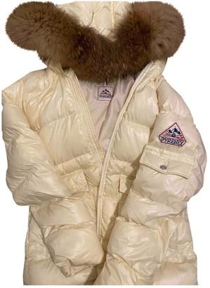 Pyrenex Ecru Fur Jackets